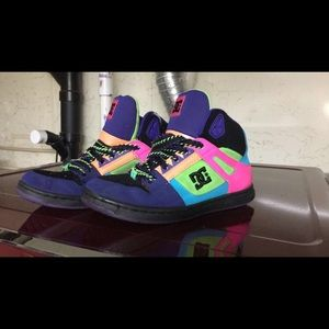 Colorful DC high tops